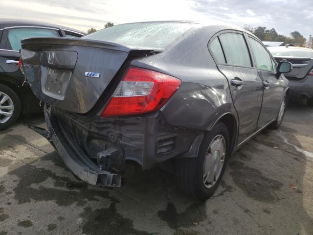 цена в сша 2012 Honda Civic Hf 1.8L 2HGFB2F60CH553356