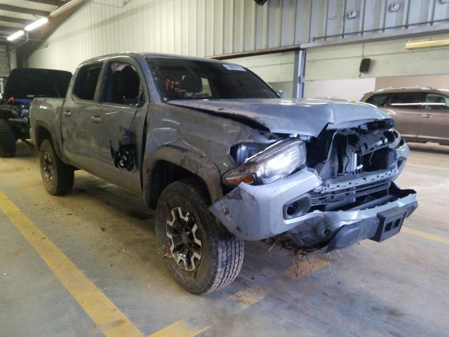 Salvage cars for sale from Copart Mocksville, NC: 2020 Toyota Tacoma DOU