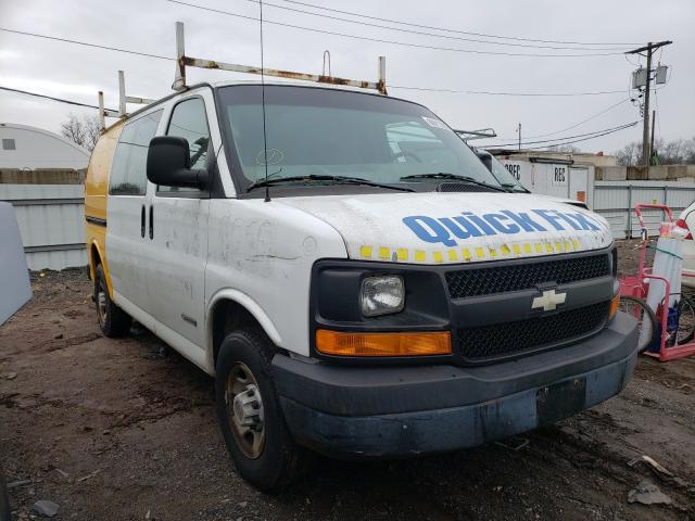 Salvage cars for sale from Copart Hillsborough, NJ: 2004 Chevrolet Express G2