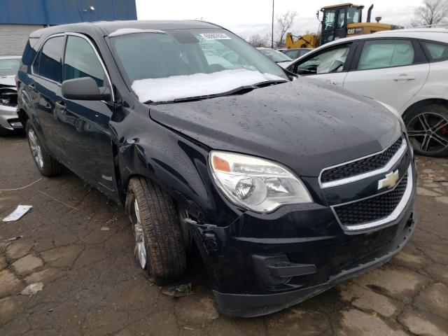 Salvage cars for sale from Copart Woodhaven, MI: 2013 Chevrolet Equinox LS