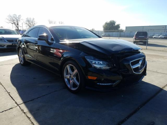 Salvage cars for sale from Copart Sacramento, CA: 2014 Mercedes-Benz CLS 550