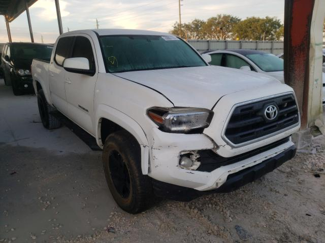 Salvage cars for sale from Copart Homestead, FL: 2016 Toyota Tacoma DOU