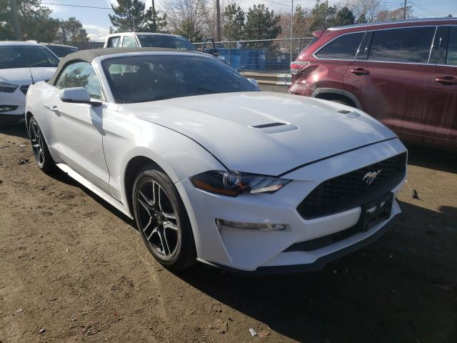 Salvage cars for sale from Copart Denver, CO: 2019 Ford Mustang