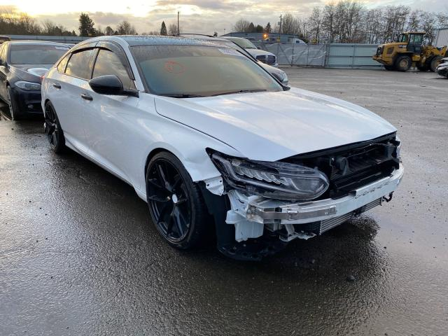 Salvage cars for sale from Copart Portland, OR: 2019 Honda Accord Sport