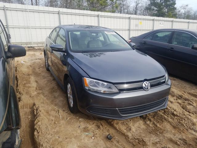 Salvage cars for sale from Copart Gaston, SC: 2013 Volkswagen Jetta Hybrid