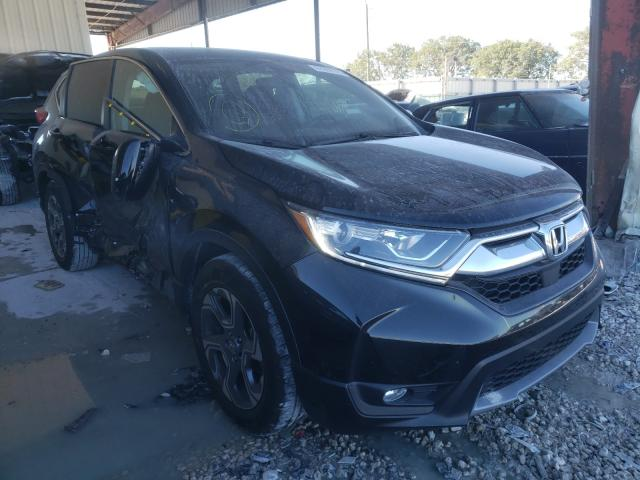 Salvage cars for sale from Copart Homestead, FL: 2019 Honda CR-V EX
