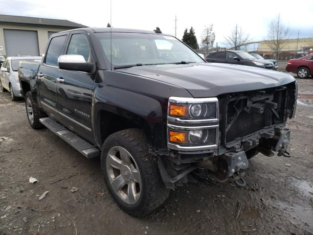 Salvage cars for sale from Copart Eugene, OR: 2015 Chevrolet Silverado