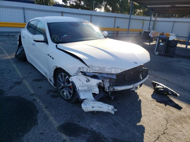 Maserati Levante salvage cars for sale: 2019 Maserati Levante