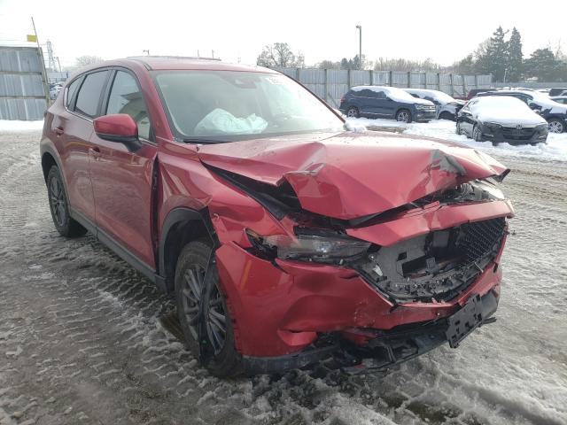 Salvage cars for sale from Copart Cudahy, WI: 2019 Mazda CX-5 Touring
