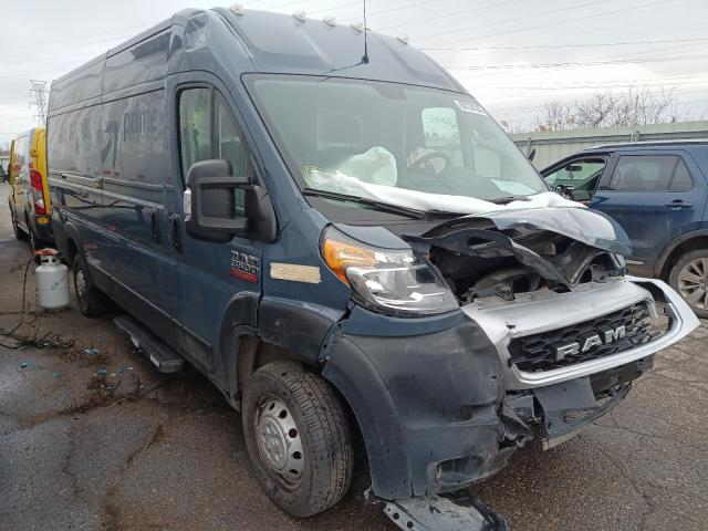 Dodge Promaster salvage cars for sale: 2019 Dodge Promaster