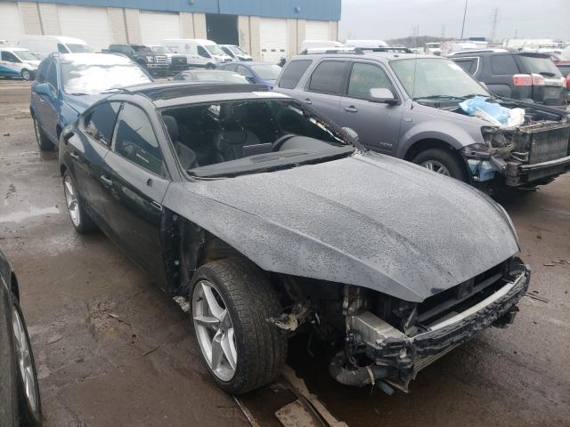 Salvage cars for sale from Copart Woodhaven, MI: 2018 Audi A5 Premium