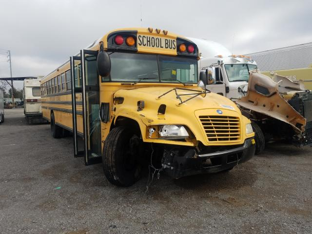 Salvage cars for sale from Copart Lebanon, TN: 2008 Blue Bird School Bus