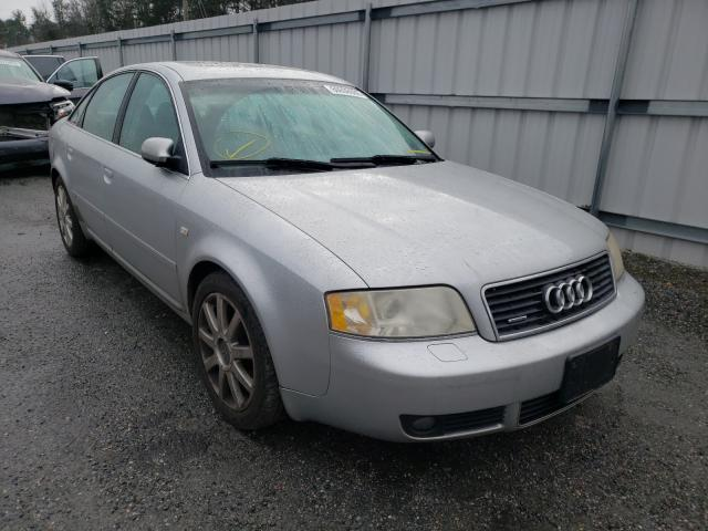 Salvage cars for sale from Copart Fredericksburg, VA: 2004 Audi A6