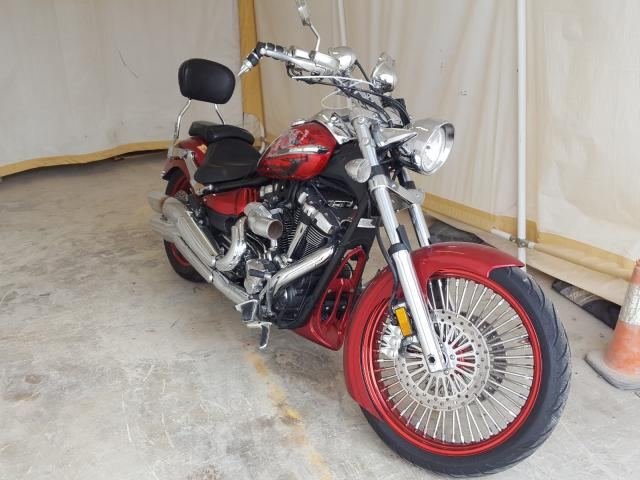 Salvage cars for sale from Copart San Antonio, TX: 2009 Yamaha XV1900 CU
