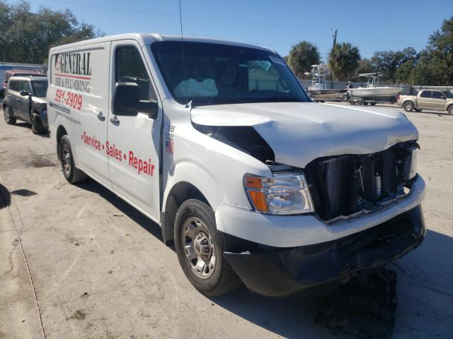 Salvage cars for sale from Copart Punta Gorda, FL: 2015 Nissan NV 1500