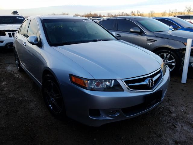 Salvage cars for sale from Copart Bridgeton, MO: 2008 Acura TSX