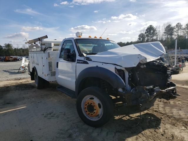 Salvage cars for sale from Copart Lumberton, NC: 2016 Ford F450 Super