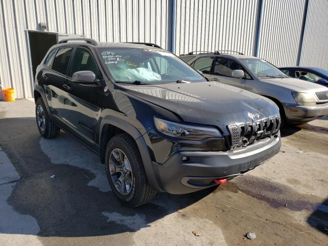 Salvage cars for sale from Copart Apopka, FL: 2019 Jeep Cherokee T