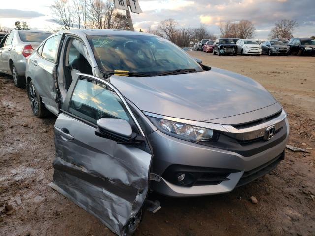 Salvage cars for sale at China Grove, NC auction: 2016 Honda Civic EXL