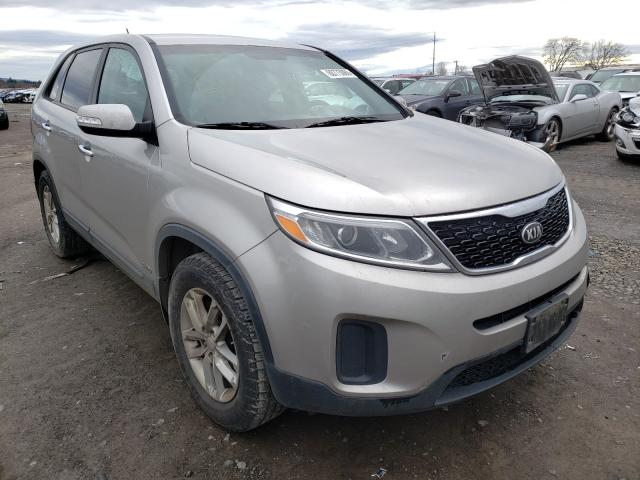 Salvage cars for sale from Copart Eugene, OR: 2014 KIA Sorento LX