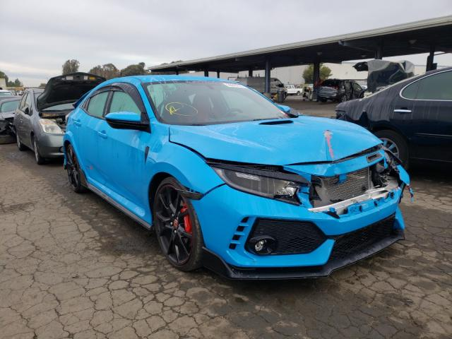 Vehiculos salvage en venta de Copart Hayward, CA: 2019 Honda Civic Type