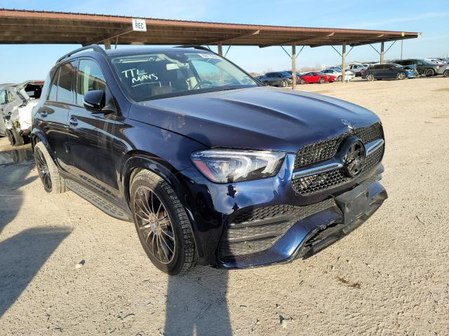 Salvage cars for sale from Copart Temple, TX: 2020 Mercedes-Benz GLE 450 4M