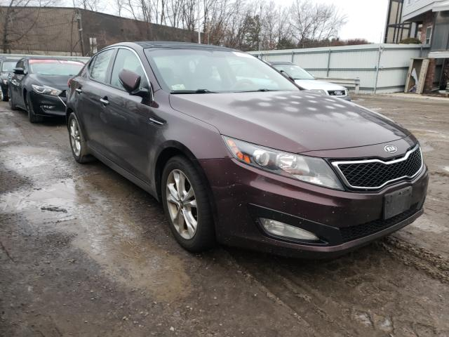 KIA Optima salvage cars for sale: 2011 KIA Optima
