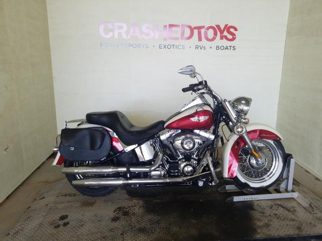 Salvage cars for sale from Copart China Grove, NC: 2013 Harley-Davidson Flstn Soft