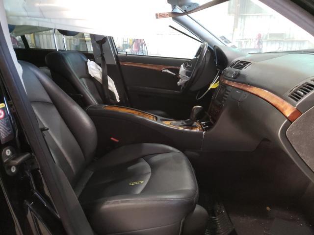2005 MERCEDES-BENZ E 320 4MAT - Left Rear View