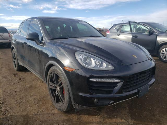 Porsche salvage cars for sale: 2011 Porsche Cayenne TU