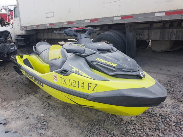 Seadoo RXT salvage cars for sale: 2019 Seadoo RXT