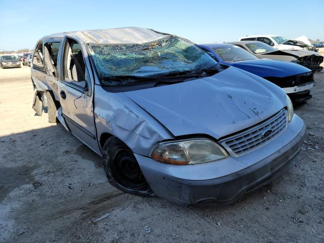 Salvage cars for sale from Copart Temple, TX: 2002 Ford Windstar L