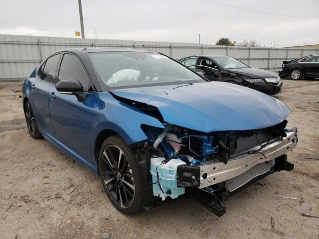 Salvage cars for sale from Copart Lexington, KY: 2020 Toyota Camry XSE