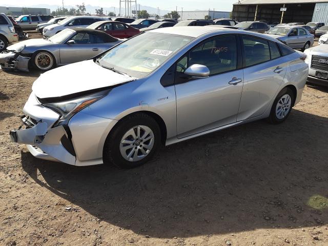 из сша 2016 Toyota Prius 1.8L JTDKBRFU1G3525417