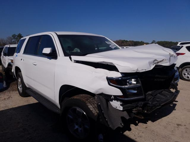 Salvage cars for sale from Copart Houston, TX: 2020 Chevrolet Tahoe Police