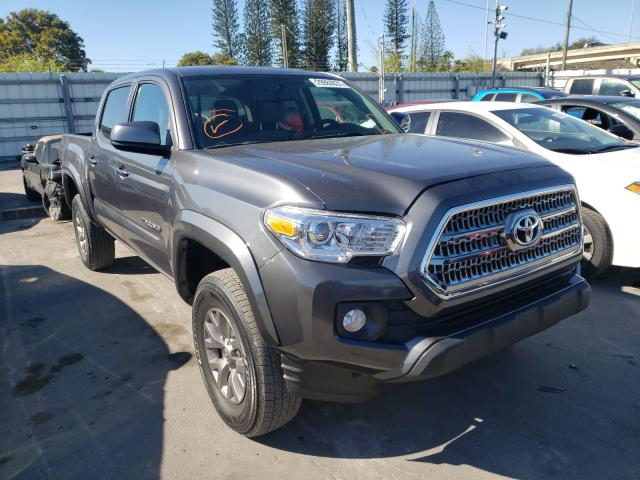 Salvage cars for sale from Copart Miami, FL: 2017 Toyota Tacoma DOU