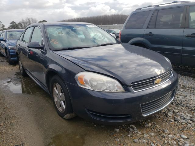 Salvage cars for sale from Copart Hampton, VA: 2009 Chevrolet Impala 1LT