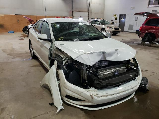 Salvage cars for sale from Copart Moncton, NB: 2019 Volkswagen Jetta S