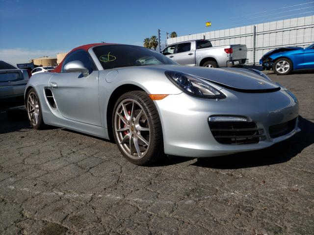 Salvage cars for sale from Copart Colton, CA: 2014 Porsche Boxster S