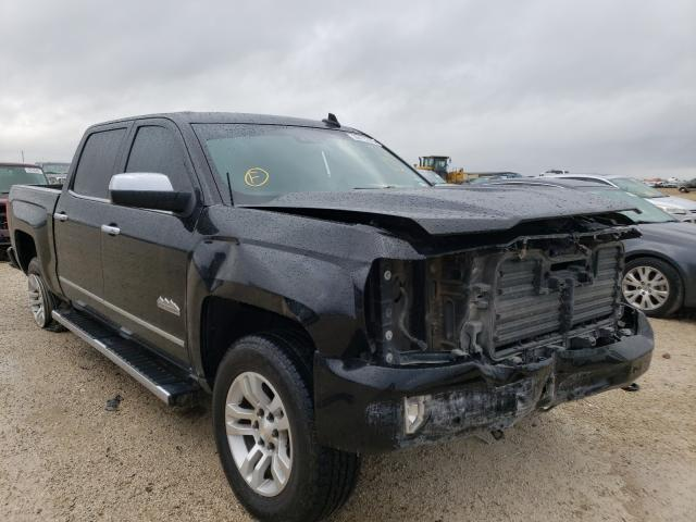 Salvage cars for sale from Copart San Antonio, TX: 2017 Chevrolet Silverado