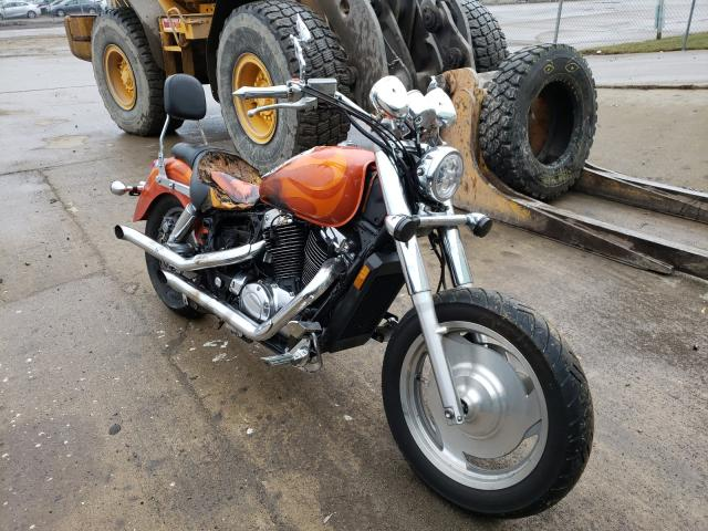 Salvage cars for sale from Copart Columbus, OH: 2002 Honda VT1100 C2