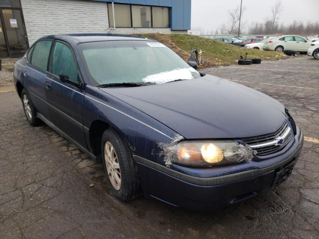 Salvage cars for sale from Copart Woodhaven, MI: 2002 Chevrolet Impala