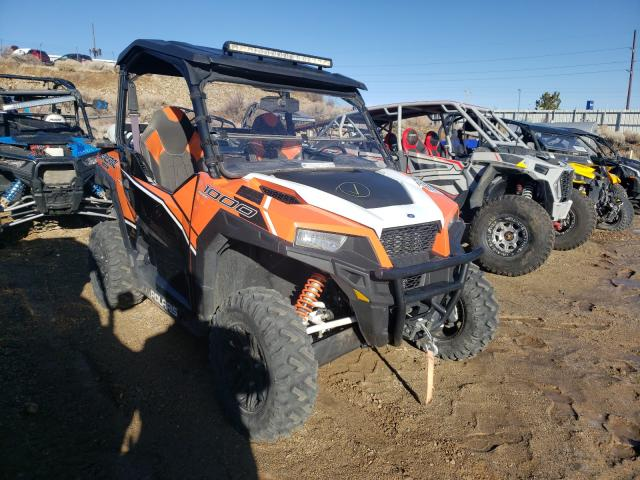 Salvage cars for sale from Copart Reno, NV: 2016 Polaris General 10