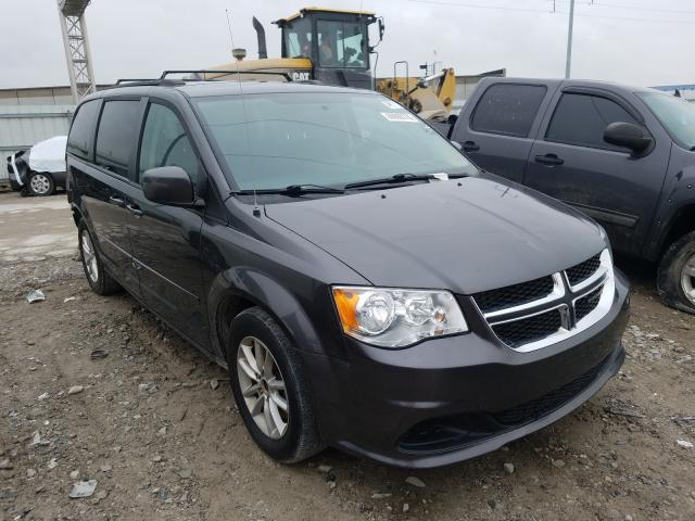 Salvage cars for sale from Copart Columbus, OH: 2016 Dodge Grand Caravan