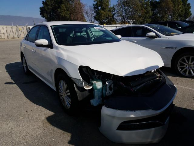 Salvage cars for sale from Copart Rancho Cucamonga, CA: 2015 Volkswagen Passat S