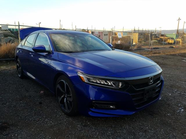 Salvage cars for sale from Copart San Martin, CA: 2018 Honda Accord Sport