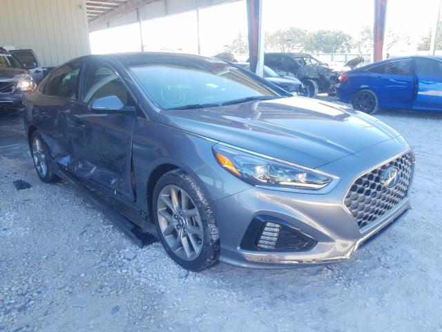 Salvage cars for sale from Copart Homestead, FL: 2019 Hyundai Sonata LIM