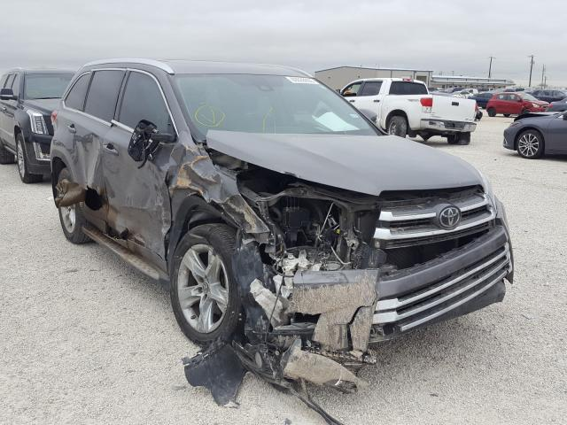 Salvage cars for sale from Copart San Antonio, TX: 2018 Toyota Highlander