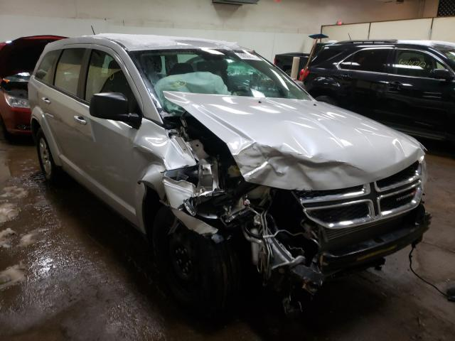 Salvage cars for sale from Copart Davison, MI: 2012 Dodge Journey SE