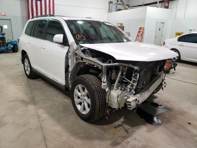Salvage cars for sale from Copart Lufkin, TX: 2012 Toyota Highlander